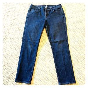 Loft Curvy Straight Jeans Size 31/12